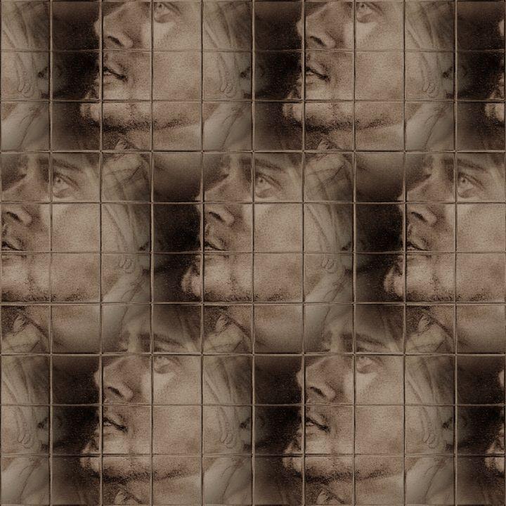 wire fence kurt - luxury portraits by lenieART