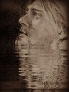 kurt in the water