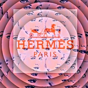 HSH in Hermes Pink Circle