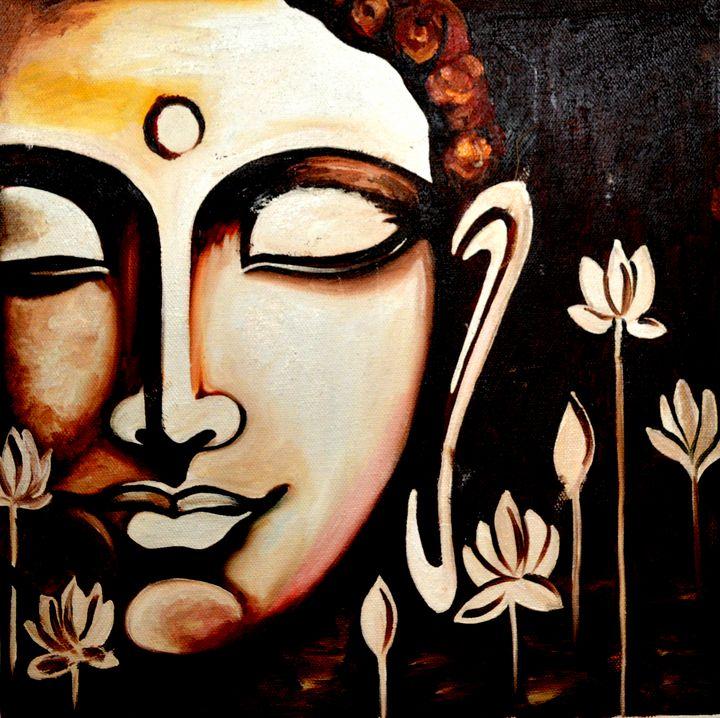 Budha - Artist Anuradha  Sharma