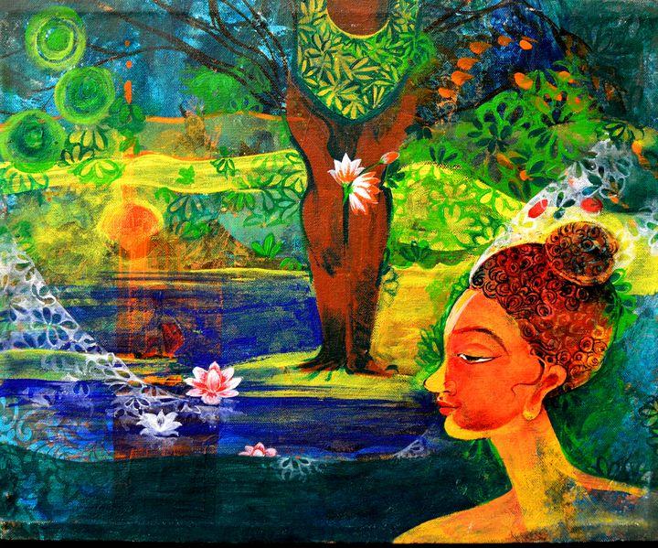 Buddha - Artist Anuradha  Sharma