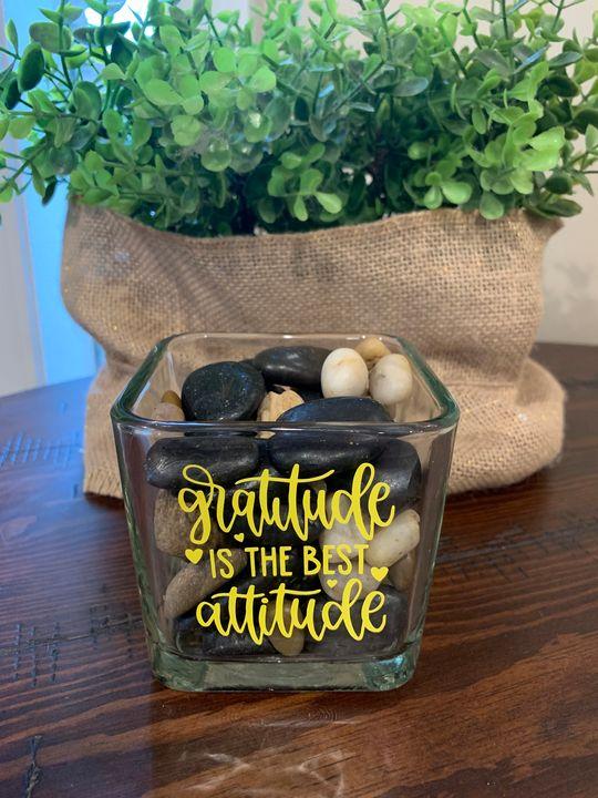 Gratitude is the best attitude - TammyAllenArt
