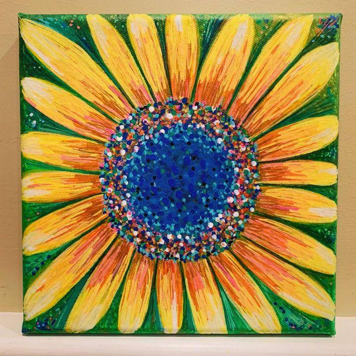Bursting with Sunshine - TammyAllenArt