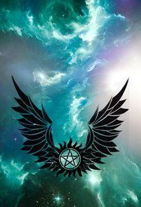 Supernatural anti possession symbol