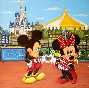 My Rendition of Mickey and Minnie