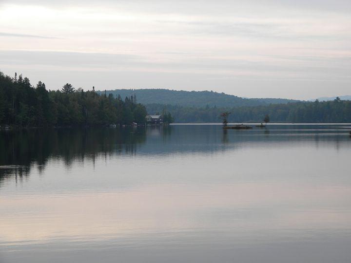 Mountain Lake Retreat - Porter Prints