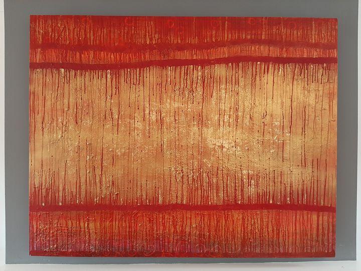 Lava layers - Kathi Hall