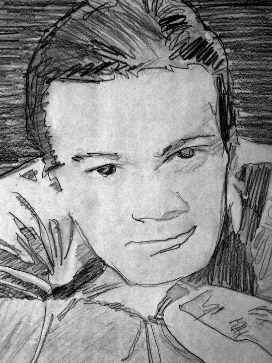 Leo Gorcey. - The Art of Louis Shalako