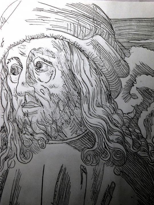 The Philosopher. - The Art of Louis Shalako