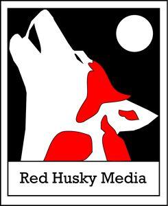 Red Husky Media Poster