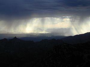 Tucson AZ Rain Shower