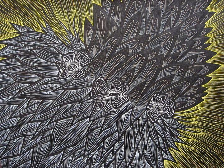 Notothlaspi Rosulatum - JBywaters Art