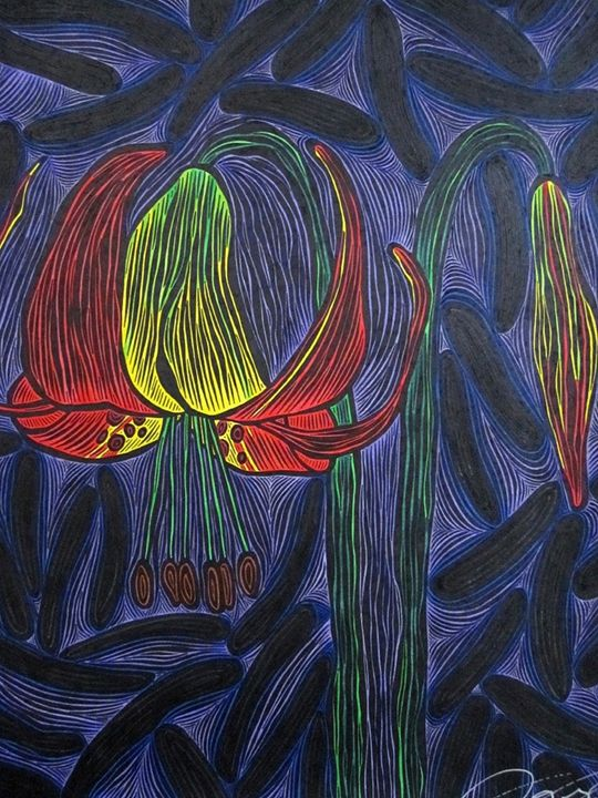 Eureka Lily - JBywaters Art