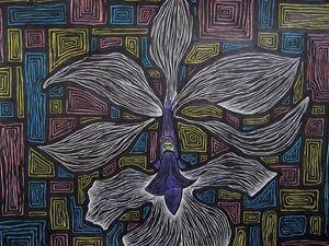 Calanthe Vestita - JBywaters Art