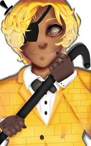 Human Bill Cipher-Gravity Falls