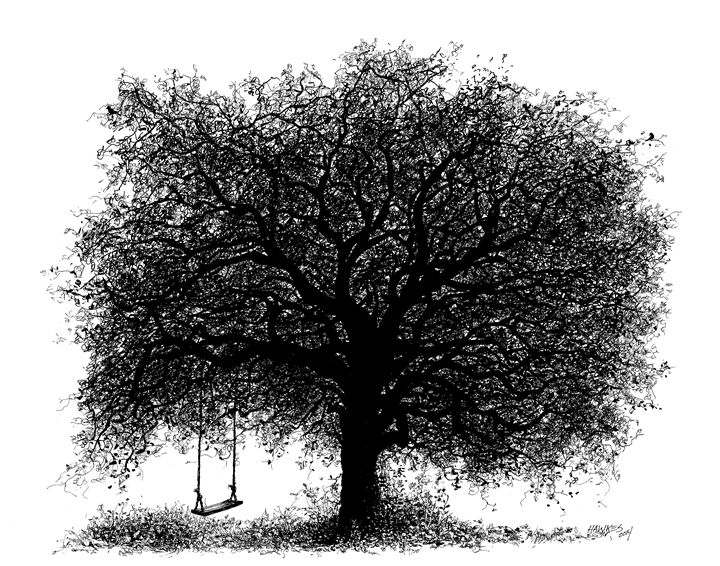 Through the Years - Tree Illustrations
