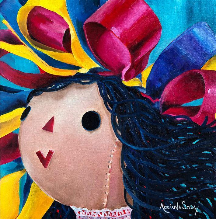Maria's new hair. - Adriana Sosa