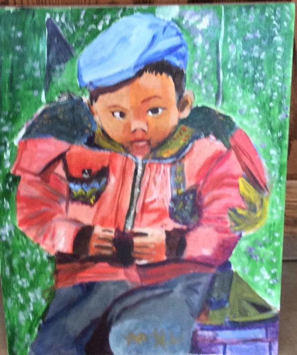 Asian little boy - Ginette