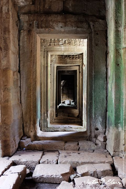 Angkor Collection - Inside Doors N°2 - Victor ELARS - french artist