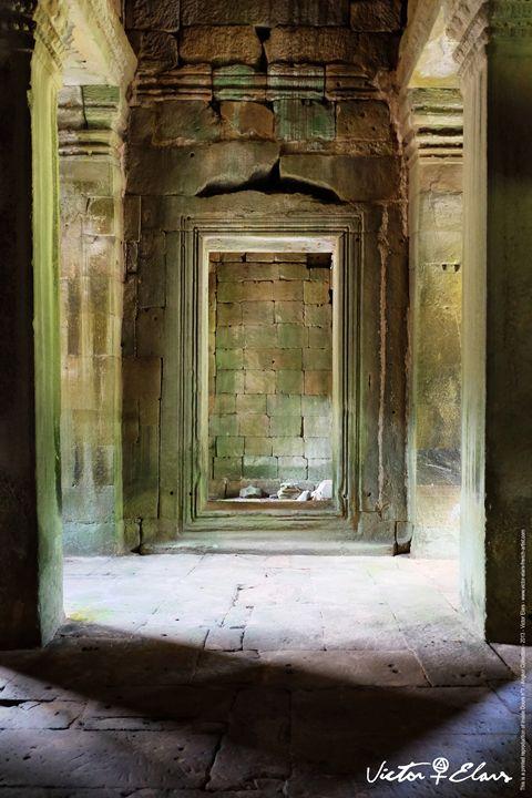 Angkor Collection - Inside Doors N°1 - Victor ELARS - french artist