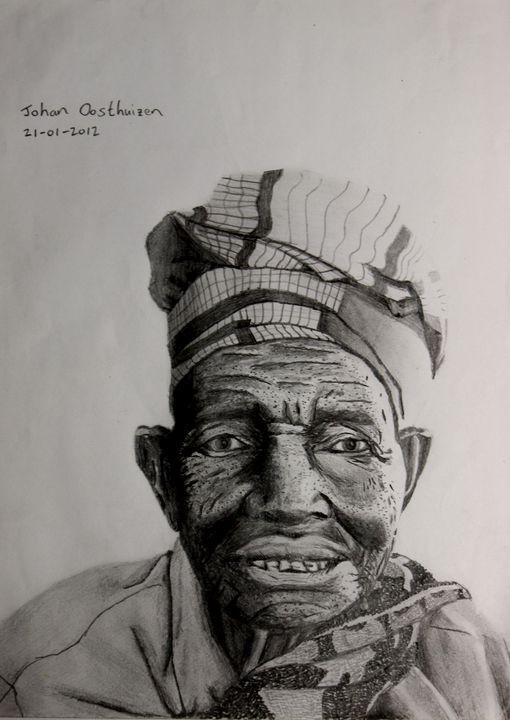 Old African Joy - John East Gallery