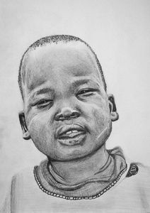 Boy from Agok, South Sudan