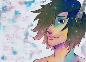 Dreamy Anime Boy
