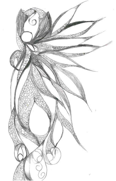 Fairy Woman - Random Doodle Art