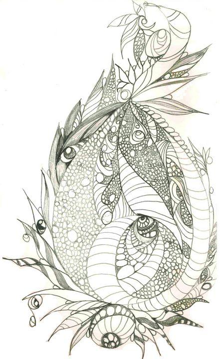 Dragon Egg - Random Doodle Art