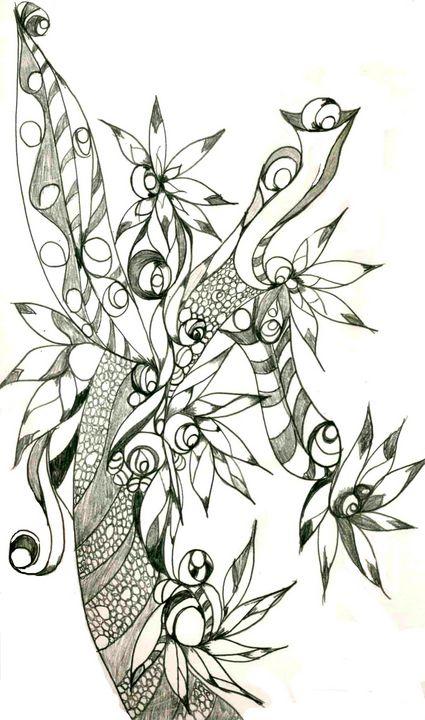 Untitled 22 - Random Doodle Art