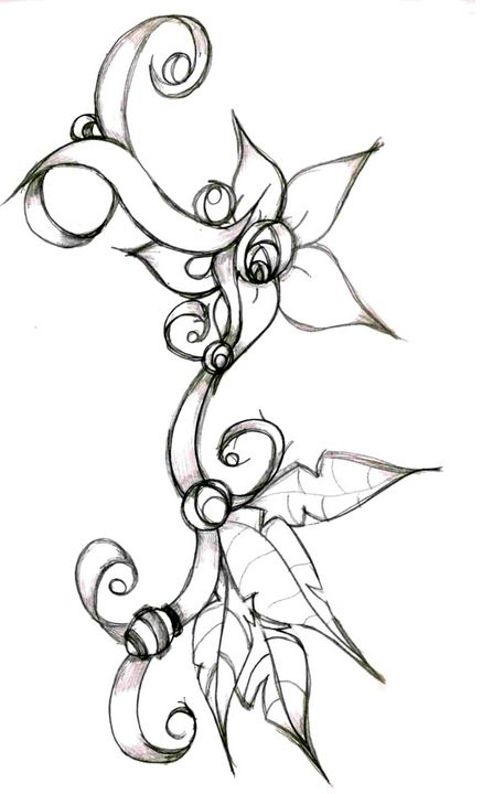 Flower 2 - Random Doodle Art