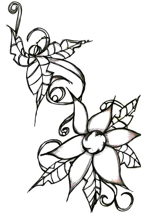 Flower 3 - Random Doodle Art