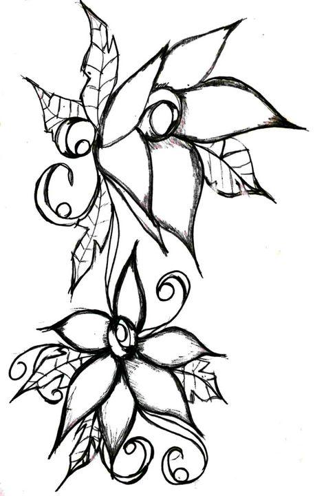 Flower 4 - Random Doodle Art