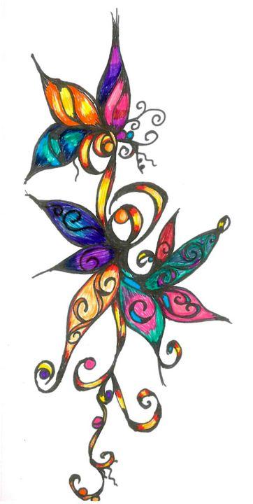 Colors - Random Doodle Art