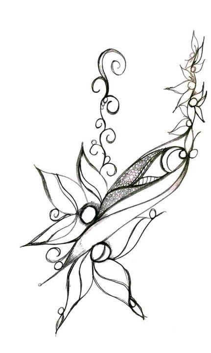 Flower 7 - Random Doodle Art