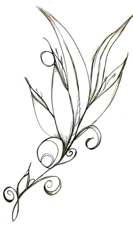 Flower 8 - Random Doodle Art