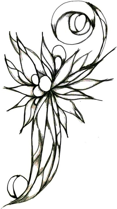 Flower 9 - Random Doodle Art