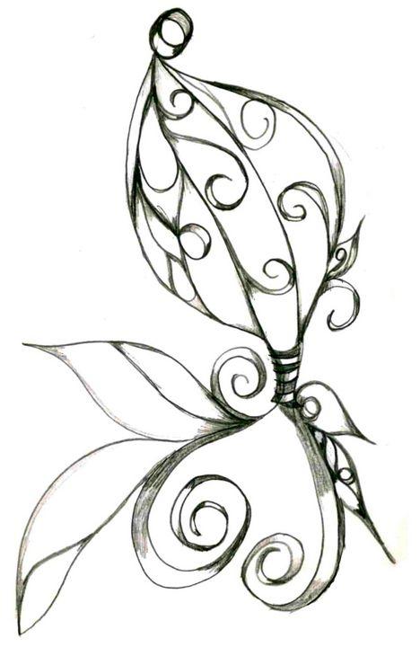 Flower 10 - Random Doodle Art