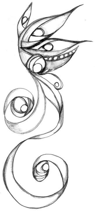Untitled 39 - Random Doodle Art