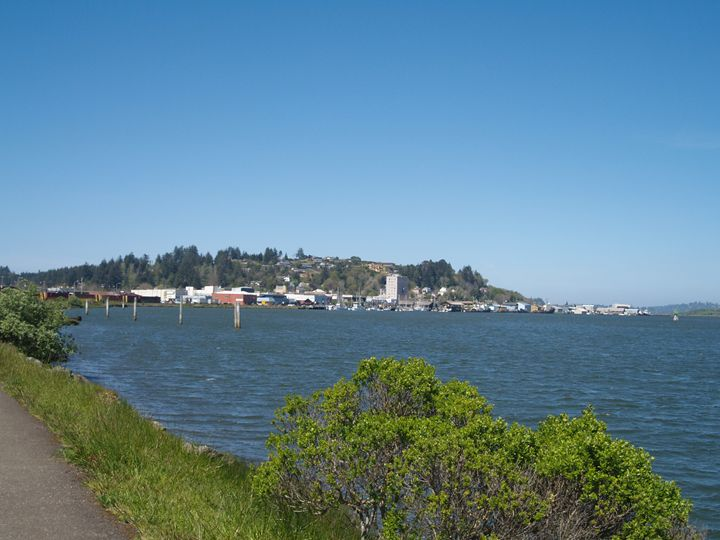 Down Town Coos Bay - EPitts Art Photography