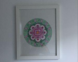 Floral II mandala