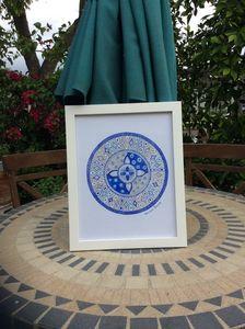 Blue reign mandala