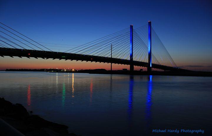 Indian River Bay Bridge, Delaware - Michael Hardy Photography