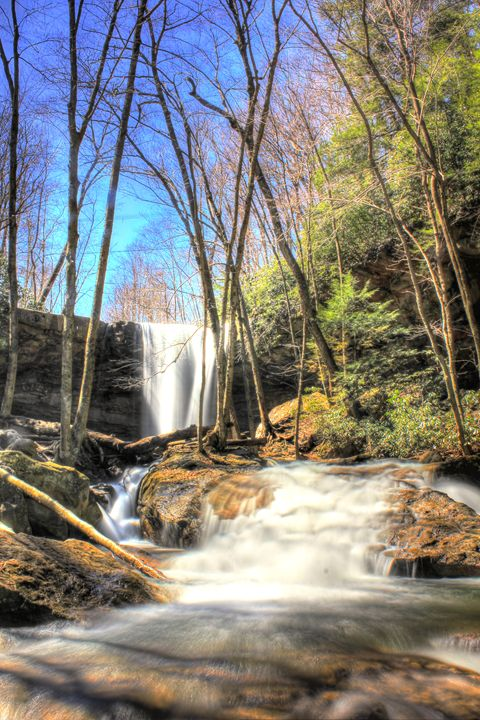 Cucumber Falls Ohiopyle - Michael Hardy Photography