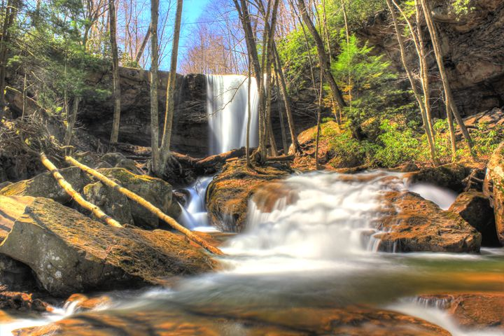 Cumcumber Falls Ohiopyle State Park - Michael Hardy Photography