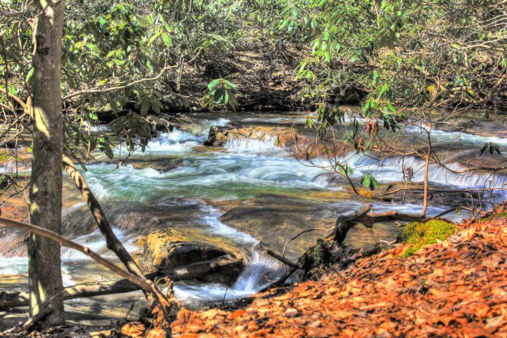 Cucumber Run Cascades - Michael Hardy Photography