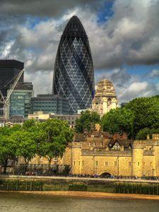 London Egg Building