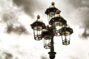 british street lamp