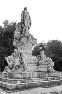 Goethe statue in Villa Borghese