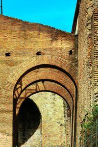 ancient brick walls